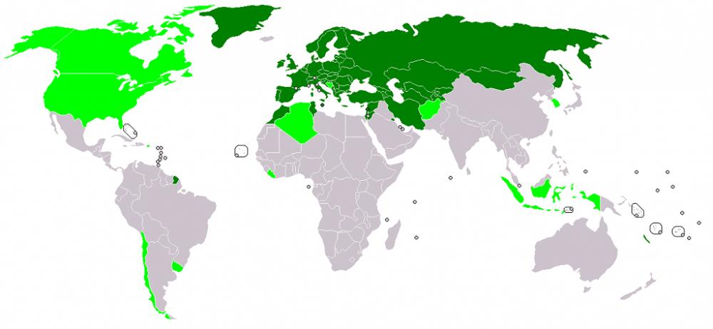 карта TIR