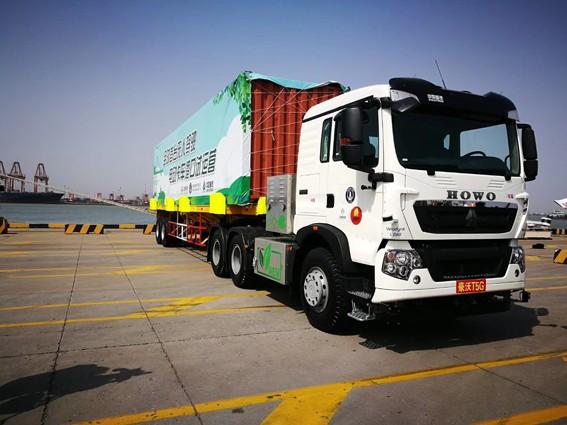 беспилотный китайский грузовик