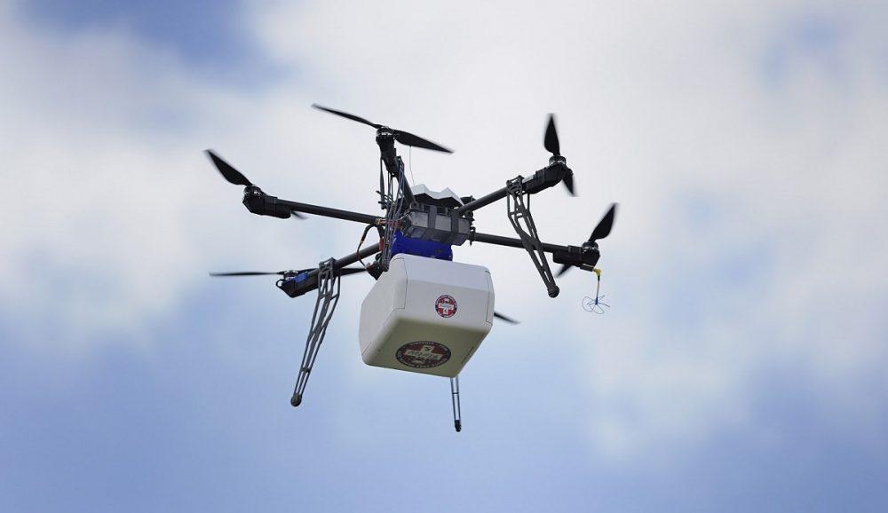 Заказывайте доставку дронами или как в США начали возить продукты беспилотниками – logist.today